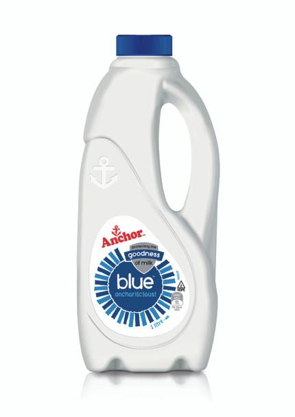 Milk - Anchor Blue - 1Ltr