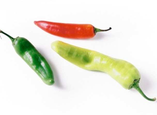 Chillies - Green - per 50g