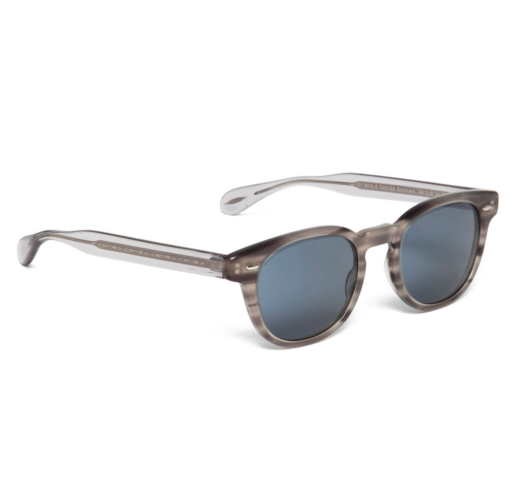 Oliver Peoples Sheldrake Grey Tortoise with Indigo Photochromic ...