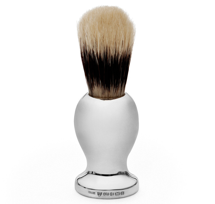 Sterling Silver Badger Brush