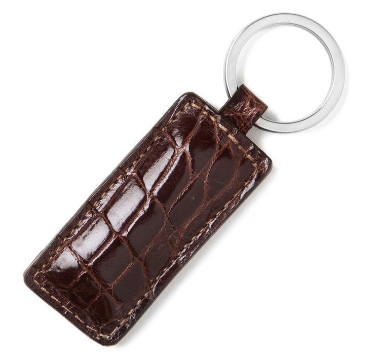 Glazed Alligator Key Fob