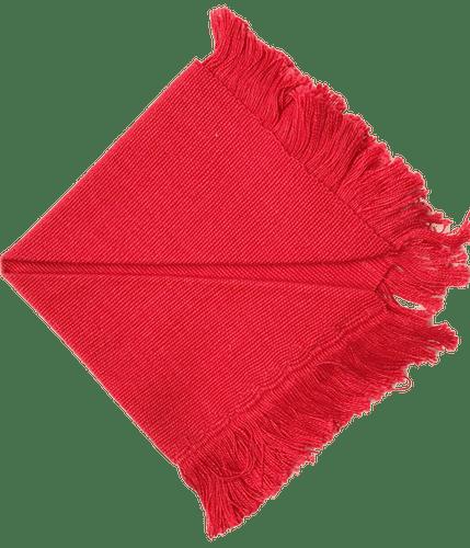 Napkin Red Color