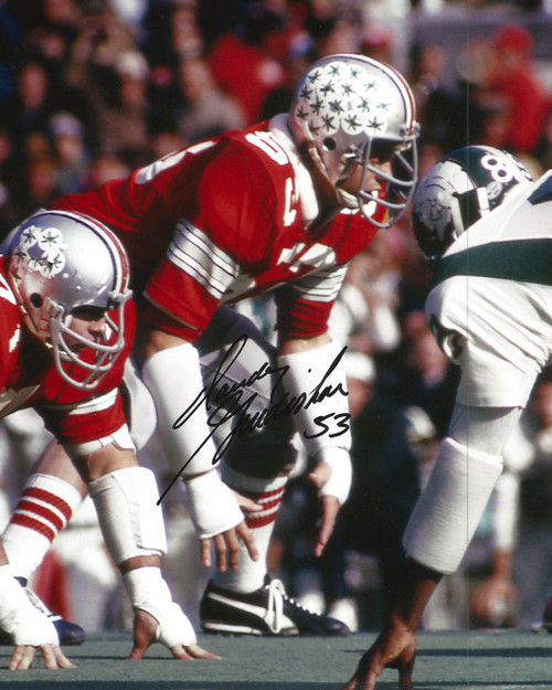 Randy Gradishar OSU 8-1 8x10 Autographed Photo - Certified Authentic