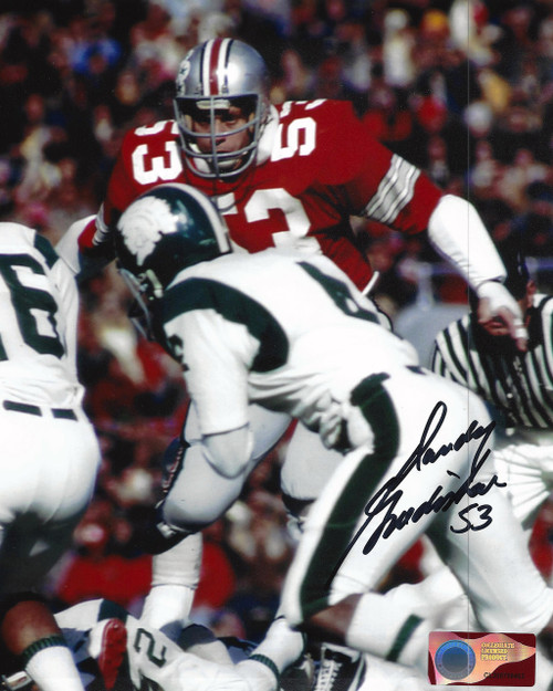 Randy Gradishar OSU 8-2 8x10 Autographed Photo - Certified Authentic