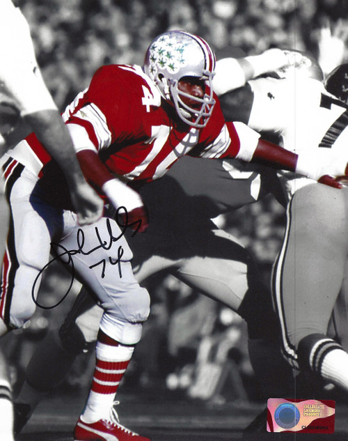 John Hicks OSU 8-3 8x10 Autographed Photo - Certified Authentic