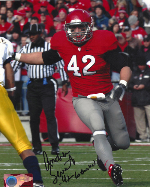 Andrew Sweat OSU 8-3 8x10 Autographed Photo - Certified Authentic