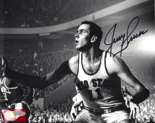 Jerry Lucas OSU 8-2 8x10 Autographed Photo - Certified Authentic