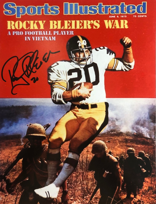 Rocky Bleier Pittsburgh Steelers 11-1 11x14 Autographed Photo - Certified Authentic