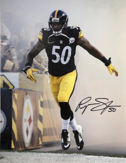 Ryan Shazier Steelers 11-1 Signed 11x14 Photo