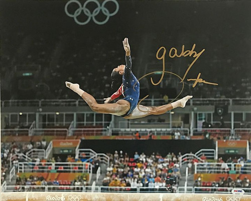 Gabby Douglas Olympics 16-3 Signed 16x20 Photo