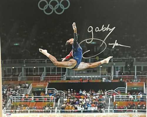 Gabby Douglas Olympics 16-4 16x20 Autographed Photo - Certified Authentic