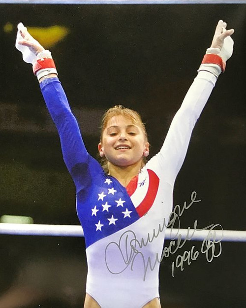 Dominique Moceanu Olympics 16-1 16x20 Autographed Photo - Certified Authentic