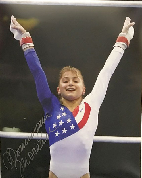 Dominique Moceanu Olympics 16-4 Signed 16x20 Photo
