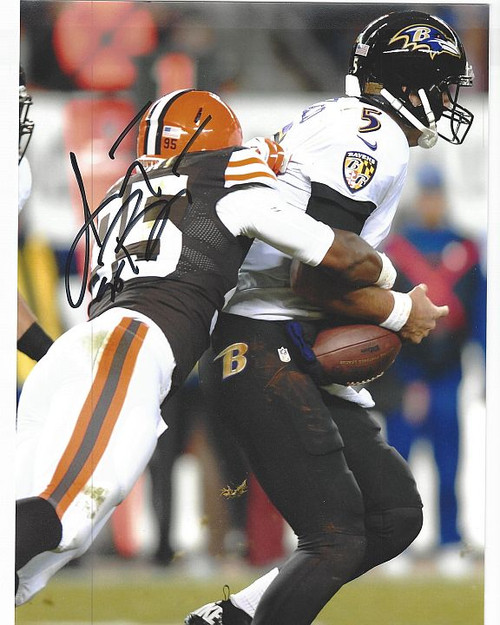 Armonty Bryant Browns 8-1 Signed 8x10 Photo
