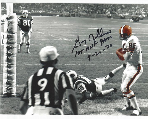 Gary Collins Browns 8-8 (2) Signed 8x10 Photo
