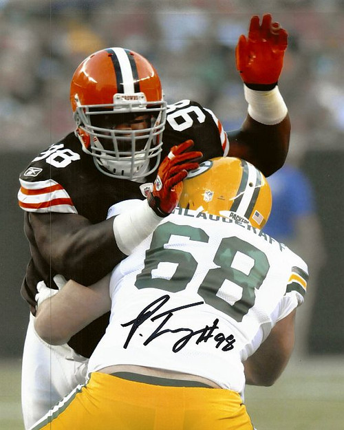Phil Taylor Browns 8-2 8x10 Autographed Photo - Certified Authentic
