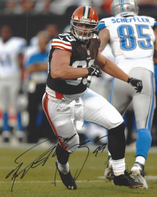 Paul Kruger Browns Signed 8x10 Photo