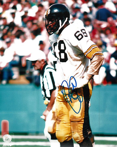 LC Greenwood Steelers 8-1 8x10 Autographed Photo - Certified Authentic