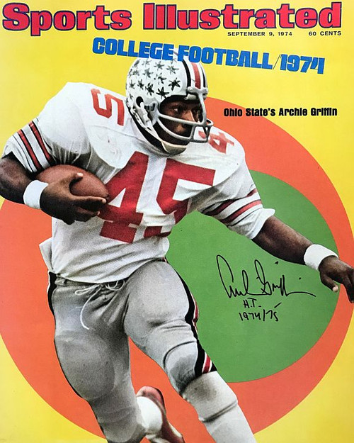 Archie Griffin OSU 16-15 Signed 16x20 Photo