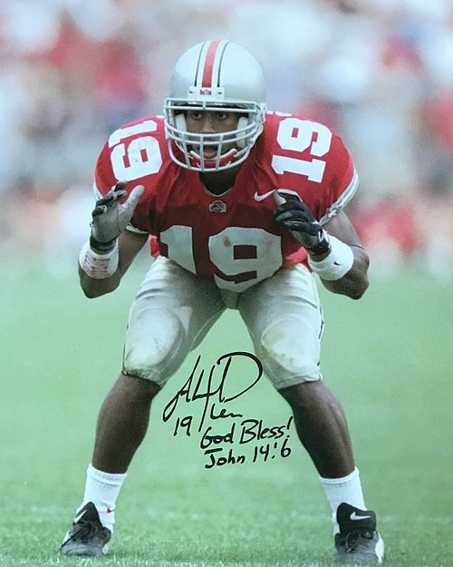 Ahmad Plummer OSU 16-1 Signed 16x20 Photo