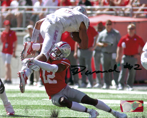 Denzel Ward 8-2 8x10 Autographed Photo - Certified Authentic