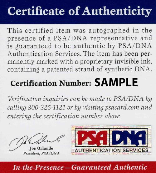 Bernie Kosar Browns 8-1 8x10 Autographed Photo - PSA Authentic