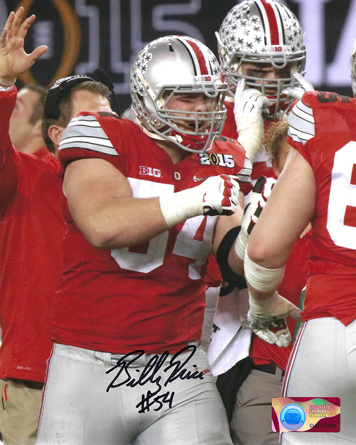 Billy Price 8-6 8x10 Autographed Photo - Certified Authentic