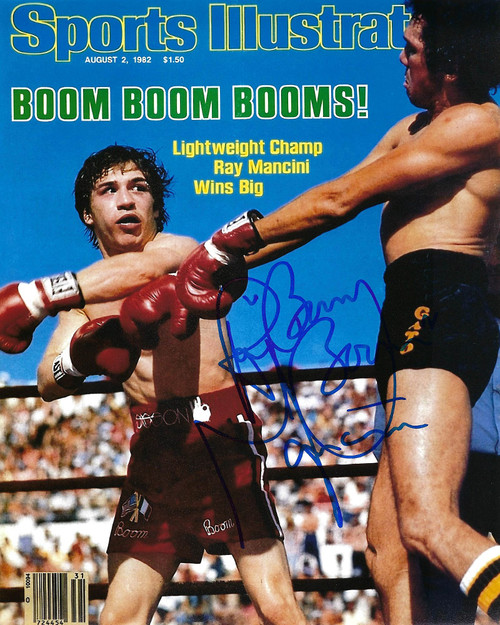 Ray Boom Boom Mancini 8-3 8x10 Photo - CertifiedAuthentic
