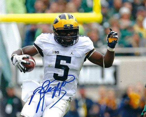 Jabrill Peppers Browns 8-3 8x10 Photo - Certified Authentic