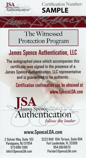 Eddie George OSU Black Heisman Autographed Authentic Helmet - JSA Authentic