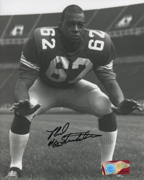 Phil Strickland OSU 8-1 8x10 Autographed Photo - Certified Authentic