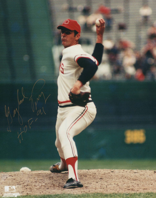 Gaylord Perry Cleveland Indians 8-1 8x10 Autographed Photo - Certified Authentic