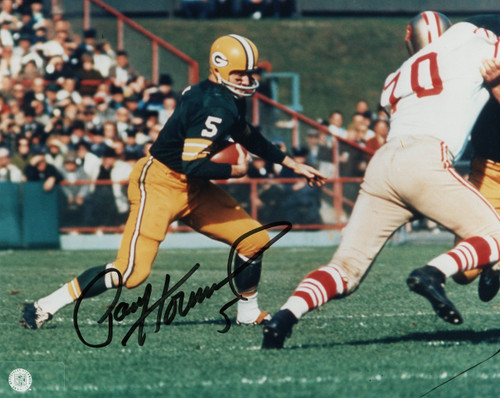 Paul Hornung Green Bay Packers 8-1 8x10 Autographed Photo - Certified Authentic