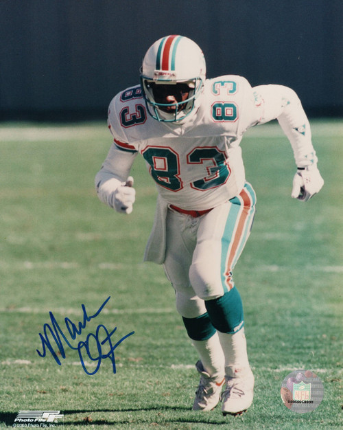 Mark Clayton Miami Dolphins 8-1 8x10 Autographed Photo - Certified Authentic