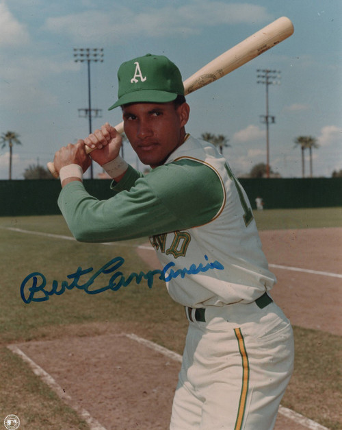Bert Campaneris Oakland Athletics 8-3 8x10 Autographed Photo - Certified Authentic