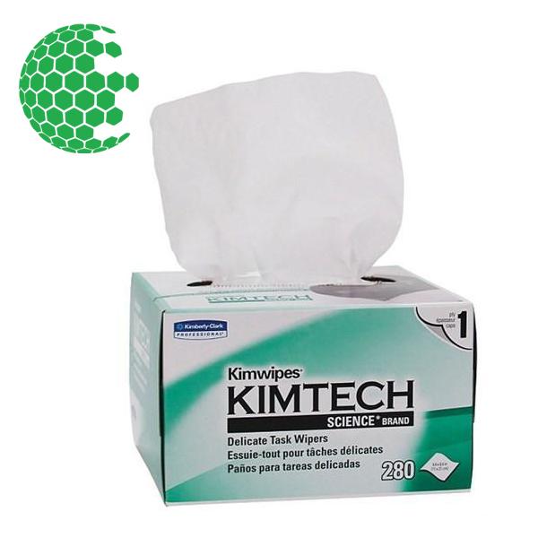 Kimtech KimWipes Delicate Task Wipes (1 bx, 280 wipes/bx)