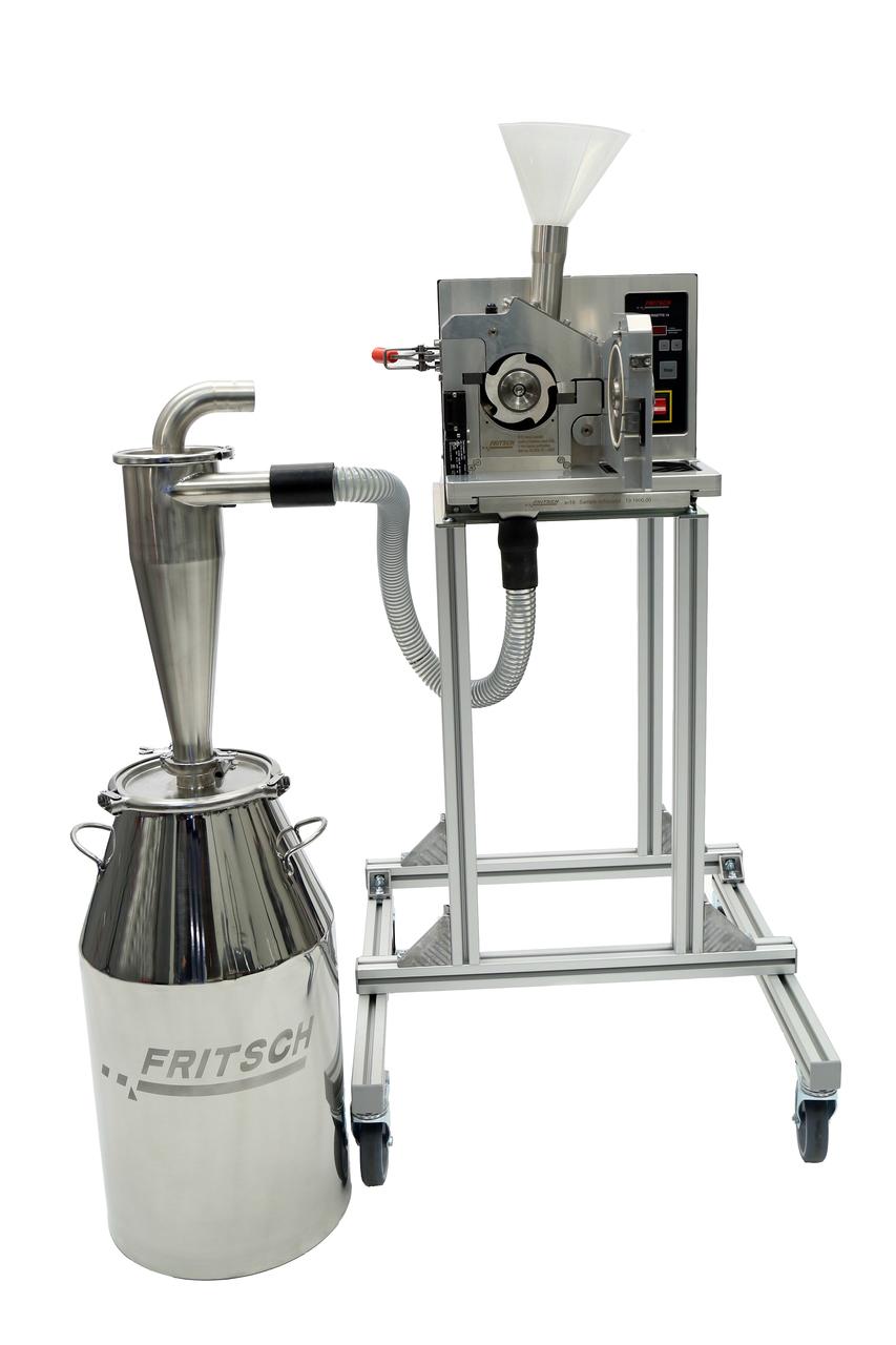 Fritsch Pulviersette 19 Universal Cutting Mill System