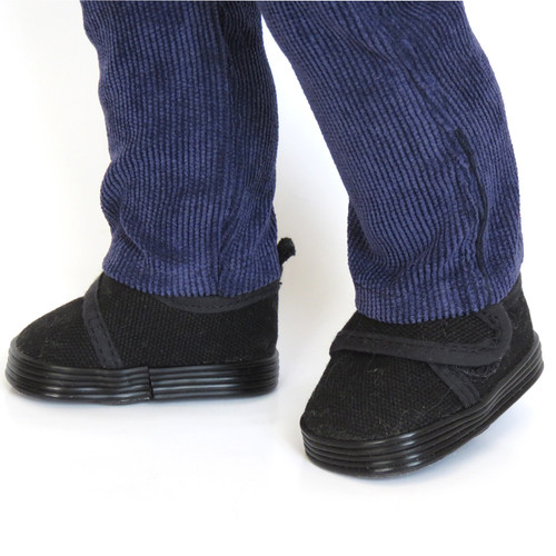 Black Canvas Casual Shoes