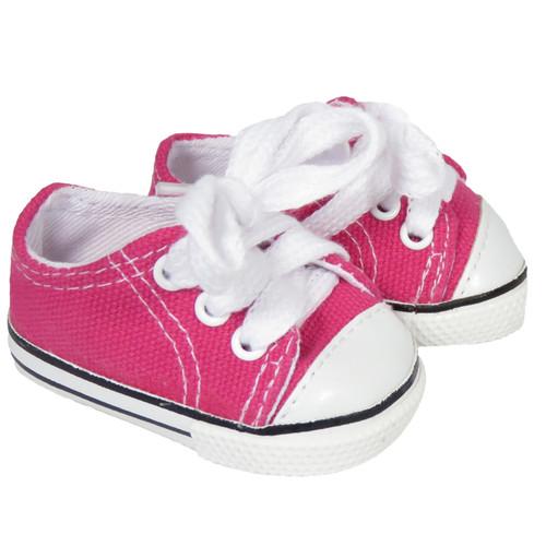 American Girl Doll Dark Pink Low-Rise Sneakers