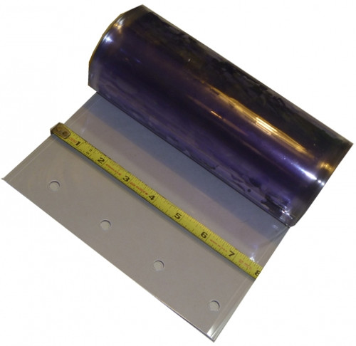 "8"" Smooth Freezer Strip Curtain Replacement Strip-freezer replacement strip-vinyl strip"