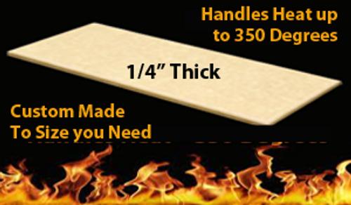 Custom Cutting Board - 1/4 Inch Thick - Tan Richlite