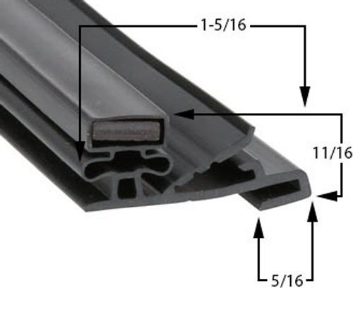 Styleline Gasket 29 3/4 x 62 3/4