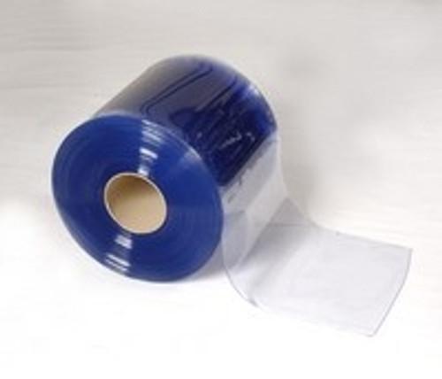 "Bulk Strip Curtain Roll 6"" Cooler Smooth"