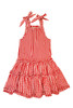Sophie Catalou Girls Toddler & Kids Bandana Red Plaid Tiered Dress 2-10y