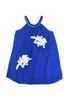 Sample Sale Cornflower Voile Embroidery Flare Dress