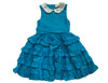 Sophie Catalou Girls Infant Toddler & Kids Teal Marfa Dress 18m-6