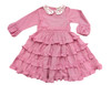 Toddler & Kids Red Mini Houndstooth Tatiana Dress