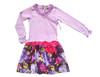 Lavender Milena Drop-waist Dress