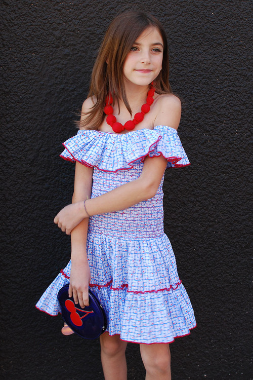 Sophie Catalou Girls Toddler & Kids Gala Dress 5-6y