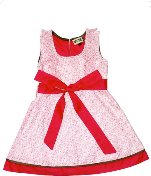 Sample Sale Pink Ditsy Floral Dress
